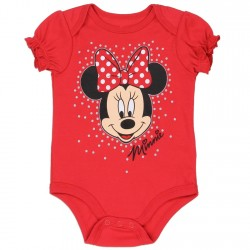 Disney Minnie Mouse Red Infant Onesie At Kids Fashion Clothing