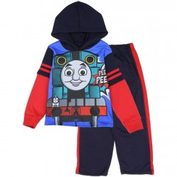 Thomas And Friends 2-Piece Sublimated Fleece Set