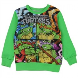 Teenage Mutant Ninja Turtles Toddler Sublimated Fleece Sweatshirt Houston Kids Fashion Clothing