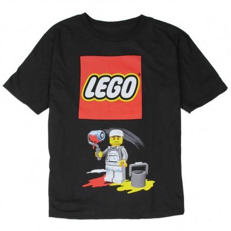 Lego Painter Boys Black Short Sleeve Graphic T Shirt At Kids Fashion Clothing