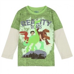 Reality Roars The Good Dinosaur Character Long Sleeve Shirt At Houston Kids Fashion Clothing