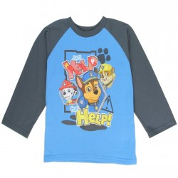 Nick Jr Paw Patrol Yelp For Help Toddler Blue Long Sleeve Shirt At Kids Fashion Clothing