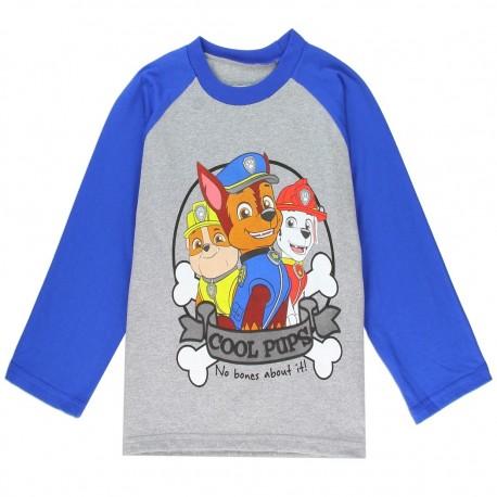 Nick Jr Paw Patrol Cool Pups No Bones About It Grey Long Sleeve Toddler Boys Shirt At Kids Fashion Clothing
