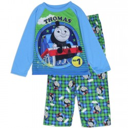 Thomas The Train No 1 Engine 2 Pc Blue Toddler Pajama Set