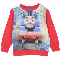 Thomas and Friends Sublimated Red Fleece Sweater