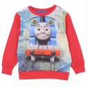 Thomas and Friends Sublimated Red Fleece Sweater At Kids Fashion Clothing