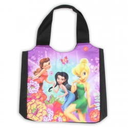 Disney Tinker Bell Rosetta And Silvermist Large Shoulder Tote