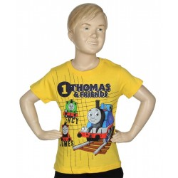 Thomas and Friends Yellow Toddler Boys T Shirt