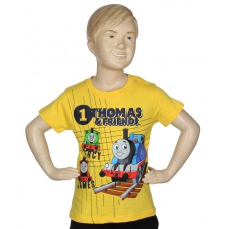 Thomas and Friends Toddler Boys T Shirt With James Percy And Thomas Houston Kids Fashion Clothing