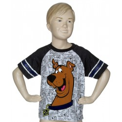 Scooby Doo All Over Print Short Sleeve Shirt Kids Fashion Clothing Store