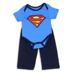 DC Comics Superman Onesie And Pants Set