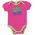 Coney Island Girls Always Win Pink Girls Baby Onesie At Kids Fashion Clothing Store