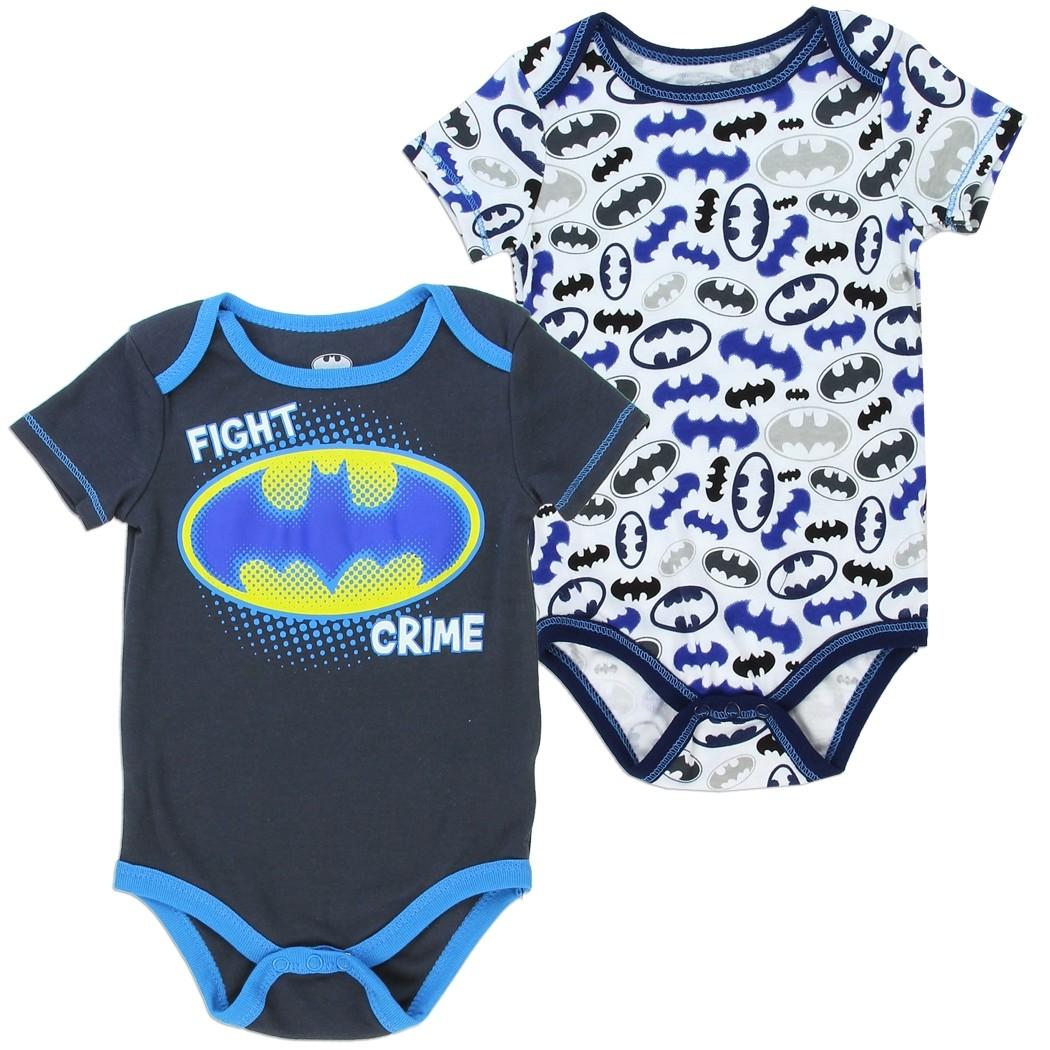 Dc Comics Batman Fight Crime 2 Piece Set Batman Baby Clothes