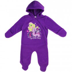 My Little Pony Purple Footed Lightweight Polar Fleece Pram At Houston Kids Fashion Clothing Store