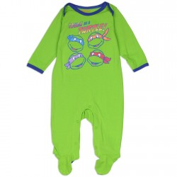 Nick Jr Teenage Mutant Ninja Turtles Tough As Turtles Footed Sleeper