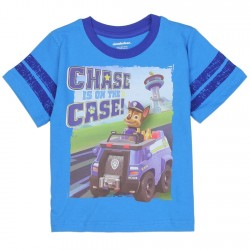 Nick Jr Paw Patrol Chase Is On The Case Toddler Boys Shirt Houston Kids Fashion Clothing Store