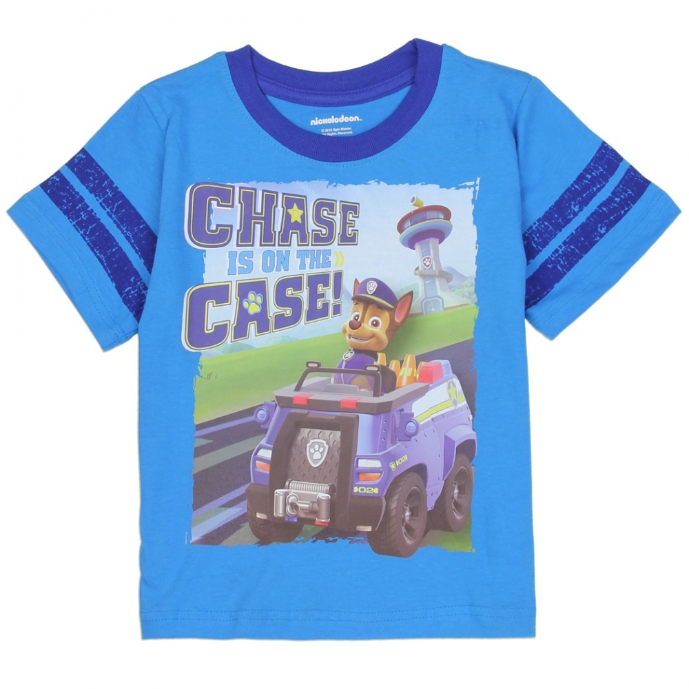 9a6f0a0d Nick Jr Paw Patrol Chase Is On The Case Toddler Boys Shirt Houston Kids  Fashion Clothing. Loading zoom