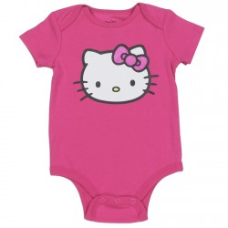 Hello Kitty Pink Infant Creeper Houston Kids Fashion Clothing Store