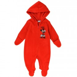 Disney Mickey Mouse Super Star Red Polar Fleece Pram At Houston Kids Fashion Clothing Store