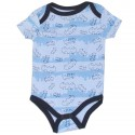 Batman Blue Bat Signal Infant Creeper At Houston Kids Fashion Clothing Store
