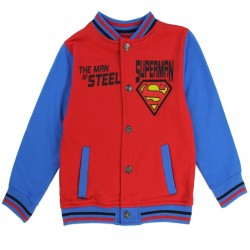 DC Comics Superman The Man Of Steel Toddler Fleece Varsity Jacket