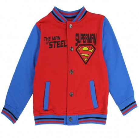 DC Comics Superman The Man Of Steel Toddler Fleece Varsity Jacket At Houston Kids Fashion Clothing Store