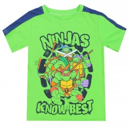 Nick Jr Teenage Mutant Ninja Turtles Ninjas Know Best Toddler Boys Shirt