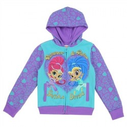 Nick Jr Shimmer And Shine Sisters Divine Toddler Girls Zippered Hoodie