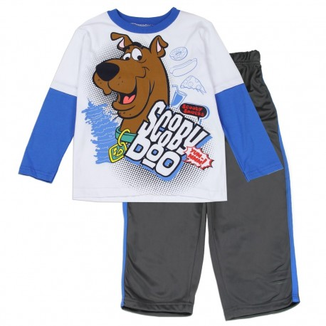 Scooby Doo Active Wear Pants and Top Two Piece Set At Houston Kids Fashion Clothing Store