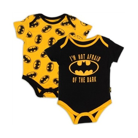 DC Comics Batmans I'm Not Afraid Of The Dark Bodysuit Set At Houston Kids Fashion Clothing