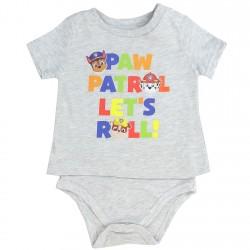 0d57fb734ed99 Nick Jr Paw Patrol Grey Paw Patrol Let's Roll Baby Boy T Shirt Onesie  Houston Kids