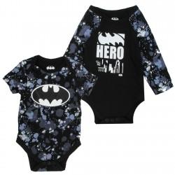 DC Comics Batman Black Hero 2 Piece Onesie Set At Houston Kids Fashion Clothing Store