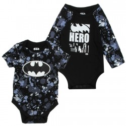 DC Comics Batman Black Hero Camouflage2 Piece Onesie Set