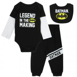 DC Comics Legend In The Making Baby Boys 3 Piece Set At Houston Kids Fashion Clothing