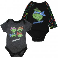Nick Jr Teenage Mutant Ninja Turtles Turtle Power 2 Piece Onesie Set