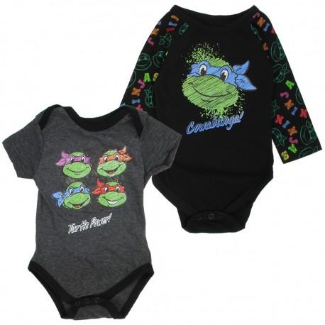 Nick Jr Teenage Mutant Ninja Turtles Cowabunga And Turtle Power Onesie Set At Houston Kids Fashion Clothing