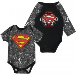 DC Comics Superman The Original Man Of Steel 2 Piece Onesie Set