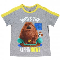 Secret Life As Pets Who's The Alpha Now Duke And Max Toddler Boys Shirt At Houston's Kids Fashion Clothing