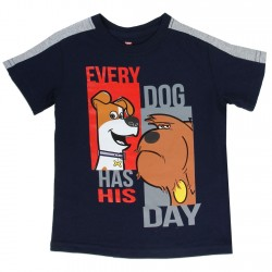 Secret LIfe of Pets Every Dog Has His Day Toddler Boys Shirt Texas
