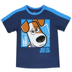 Secret LIfe of Pets Wish You Were Here Toddler Boys Shirt At Houston's KIds Fashion Clothing