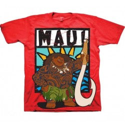 Disney Moana Maui Red Toddler Boys Shirt