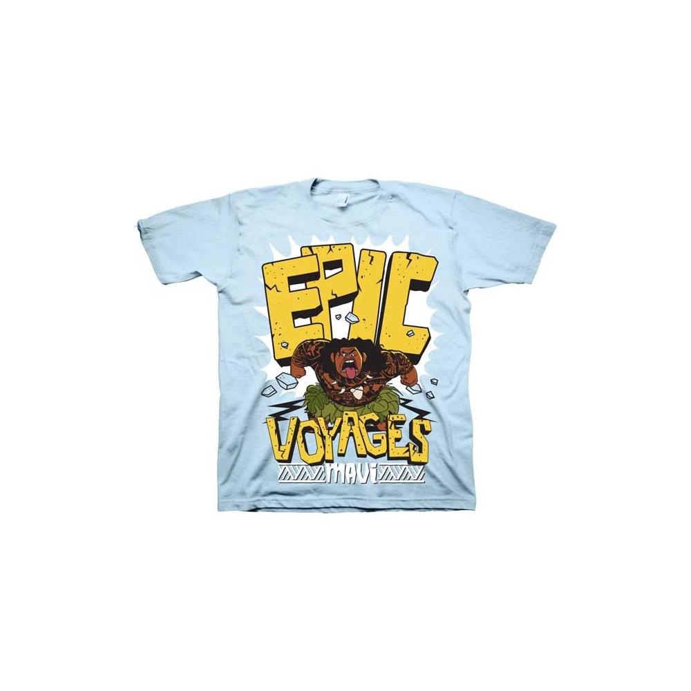 567c3f46 Disney Moana Maui Epic Voyages Light Blue Boys Shirt At Houston Kids  Fashion Clothing Kids Clothes. Loading zoom