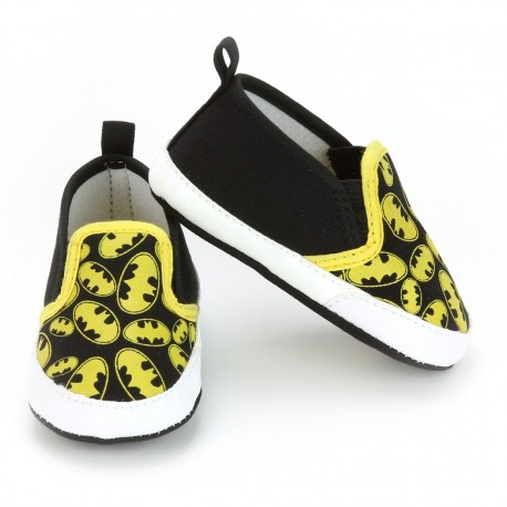 DC Comics Batman Slip On Baby Boy Crib Shoes At Houston Kids Fashion Clothing