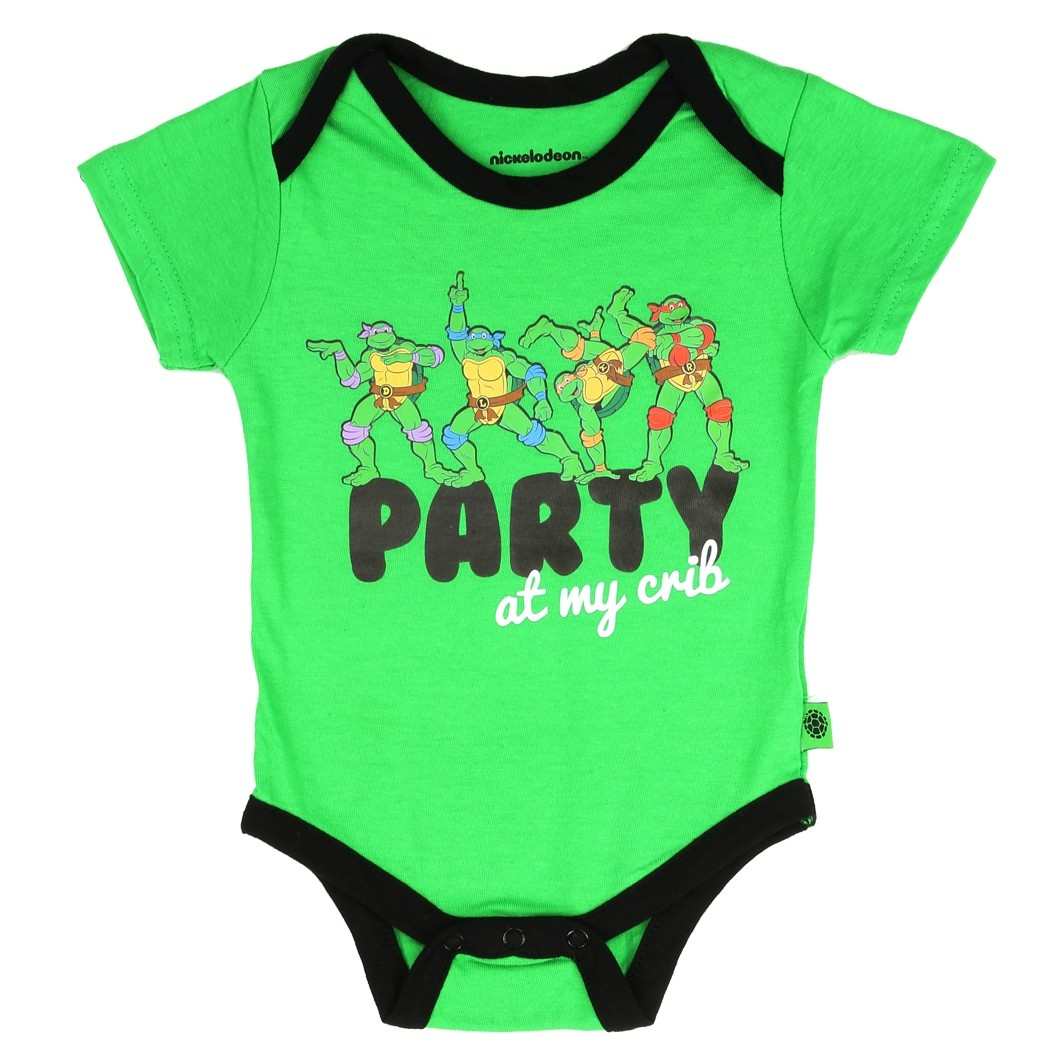 Girls Nickelodeon Teenage Mutant Ninja Turtles TMNT Bodysuit 3-6 Month Costume