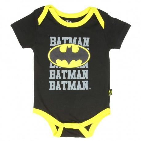 DC Comics Batman Batman Batman Black Baby Onesie Free Shipping Houston Kids Fashion Clothing