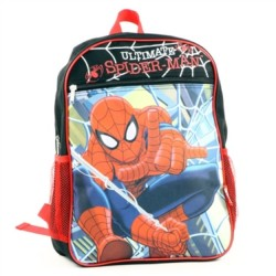 Marvel Comics Ultimate Spider Man Zippered Backpack