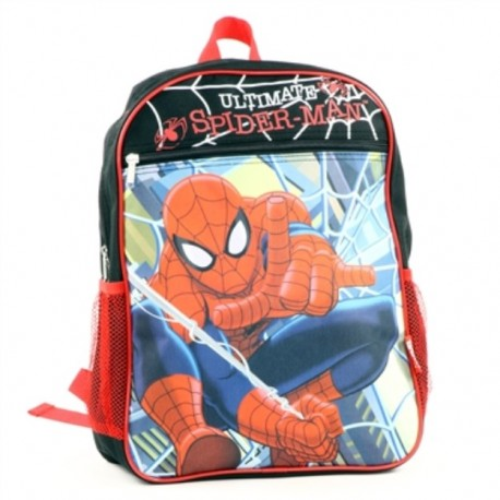 Marvel Comics Ultimate Spider Man Zippered Boys Backpack At Houston Kids Fashion Clothing Store