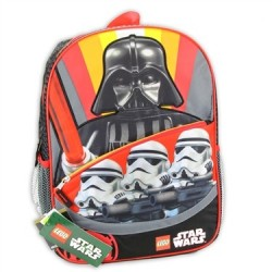 Lego Star Wars Darth Vader and Stormtroopers Backpack