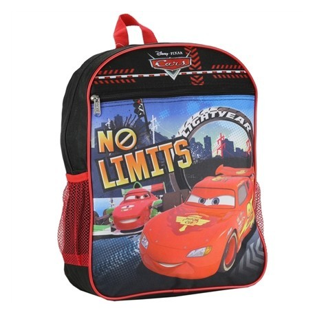 30463226c1 Disney Pixar Cars Lightning McQueen No Limits Kids Backpack Houston Kids  Fashion Clothing