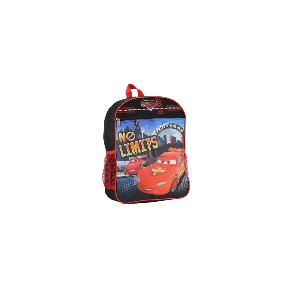 59e83de578 Disney Pixar Cars Lightning McQueen No Limits Kids Backpack Houston Kids  Fashion Clothing. Loading zoom